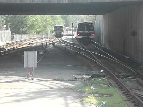 Marta Train leaving Lindbergh Center Station