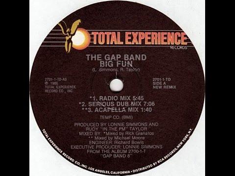 The Gap Band ~ Big Fun {full maxi single}