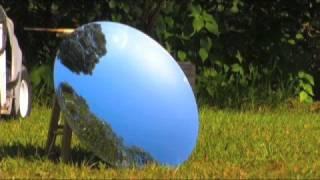 PARABOLIC MIRROR PARABOLOID CONCAVE SOLAR CONCENTRATOR