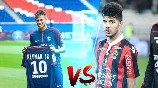 بسام صرارفي vs نيمار دا سيلفا   bassem srarfi vs neymar  l