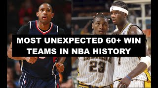 10 Most Shocking 60+ Win Seasons All-Time