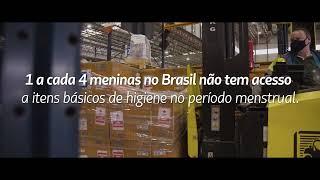 Avião Solidário em parceria com Always e Cruz Vermelha Brasileira