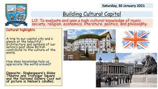 Mr Davies, Cultural Literacy, Assembly, February 2021