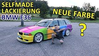 BMW E36 | SPONTAN NEU LACKIERT – SELFMADE!