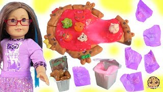 American Girl Dolls Eat Cute Num Noms SLIME Pizza with Surprise Blind Bags