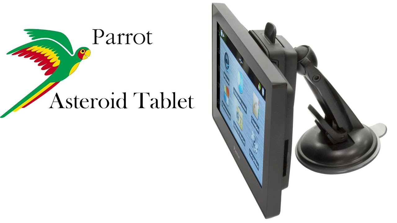 parrot asteroid tablet youtube. Black Bedroom Furniture Sets. Home Design Ideas