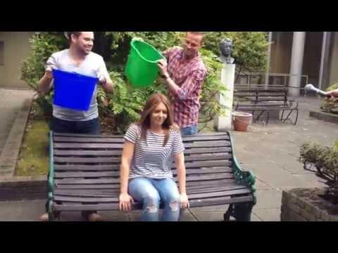 RTÉ 2fm's Jenny Greene takes the Ice Bucket Challenge