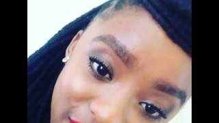 WATCH: Samkelo Ndlovu Takes A Minute To Address Her Eyebrow Haters!