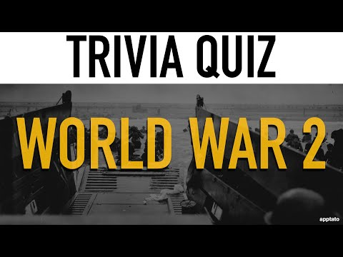 Trivia Questions And Answers (World War 2 Trivia Game Quiz) - Learn More About WW2 Facts & History