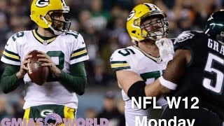 Video Vintage Aaron Rodgers Exploits Eagles Defense With Davante Adams | NFL W12 MNF Blitz Podcast download MP3, 3GP, MP4, WEBM, AVI, FLV Juli 2018