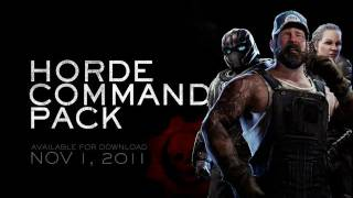 Gears of War 3: Horde Command Pack Launch Trailer (Xbox 360)