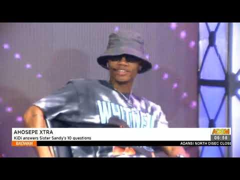 Ahosepe Xtra: Kidi answers Sister Sandy's 10 questions - Badwam Ahosepe on Adom TV (19-4-21)