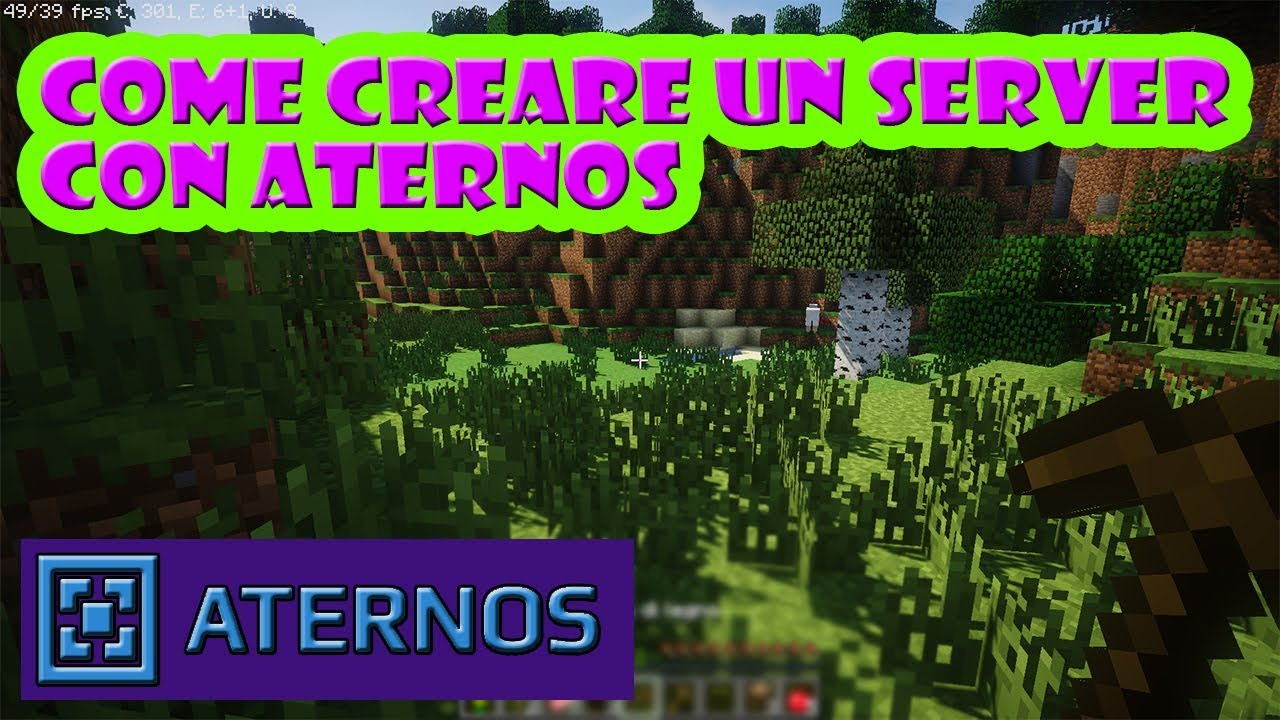 Come creare un server minecraft gratis con Aternos - YouTube