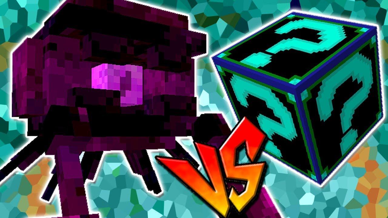 Enyvil Vs Lucky Block Fems Minecraft Lucky Block Challenge