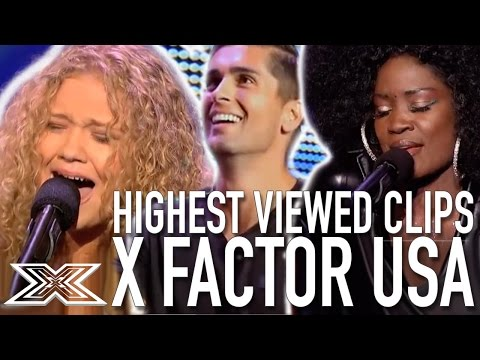 TOP 10 MOST VIEWED PERFORMANCES The X Factor USA
