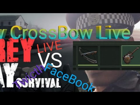 Prey Day Survival #Live #New #CrossBow New Melle Weapone, New Area Wep
