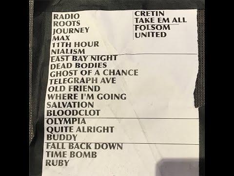 RANCID  -- Live 8/6/17 whole set