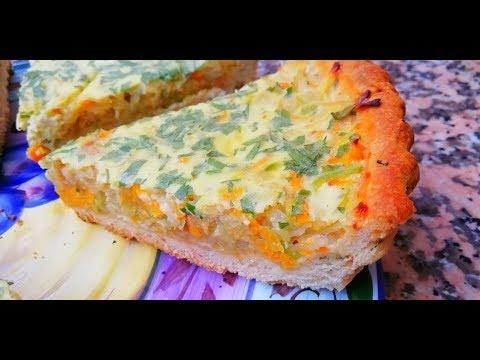 quiches-aux-légumes-pâte-brisée-sans-beurre-😋&-jus-inratable-🍹-cuisine-marocaine