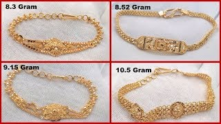 Gold Bracelet Designs With Weight  Simple Gold Bracelets For Ladies