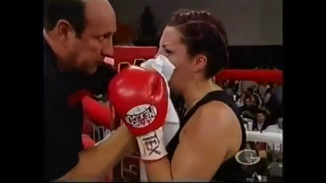 Women Fist Fight  Sexy Womens Boxing Video Not Staged -8728