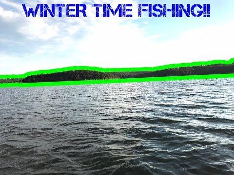 Winter Time Fishing At Urban Creek- Tulsa, OK , Arkansas River