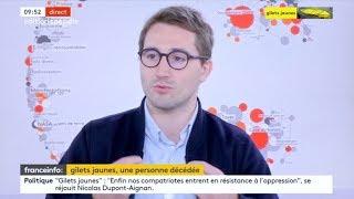 GILETS JAUNES : LE GOUVERNEMENT EST DÉPASSÉ