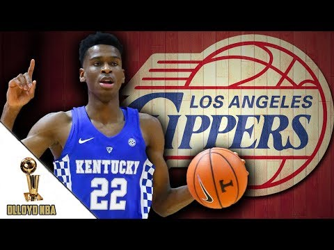 Los Angeles Clippers Trade Up To Draft Shai Gilgeous-Alexander!!!   NBA News