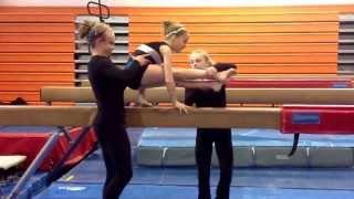 A&B Balance beam mounts 1st edition 2013-17 JO Code
