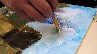 Урок рисования от Латышского мастера в Англии