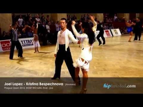 Joel Lopez - Kristina Bespechnova, Prague Open 2014, WDSF WO latin, final - jive