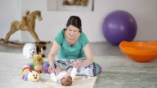 A 6 hónapos gyermeknek látótávolsága van