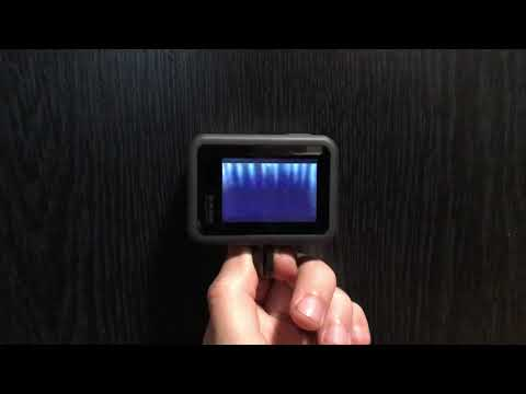 GoPro Hero 8 problem - blue dots on screen