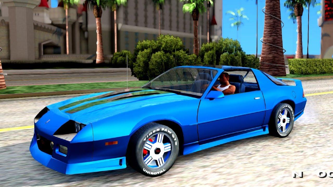 1992 Chevrolet Camaro Z28 2 Pack - GTA San Andreas - YouTube