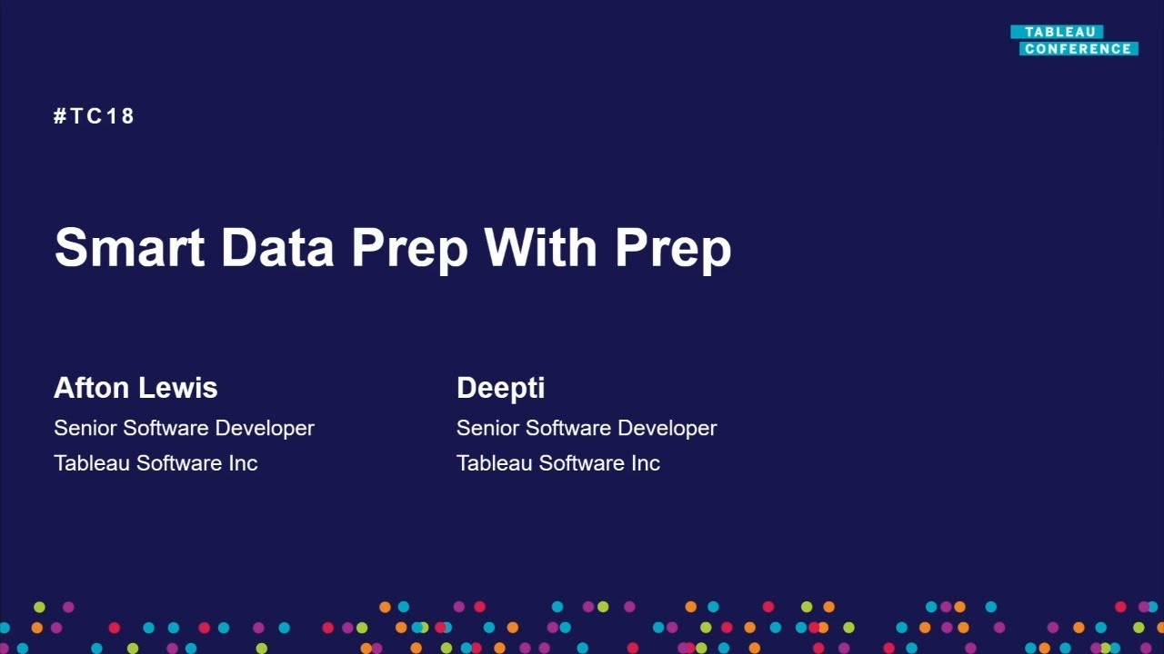 Now and the future | Smart data prep in Tableau Prep