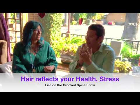 Hair Reflects your Health. Change your Products & Exercise to Lower Stress or... A clip