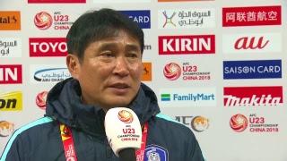 Syria vs Korea Republic (AFC U23 Championship: Group Stage)