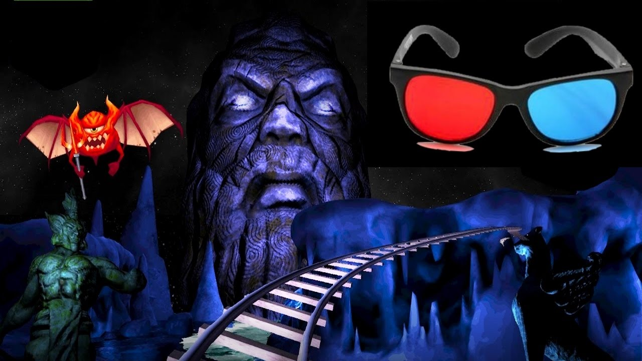horror movie roller coaster