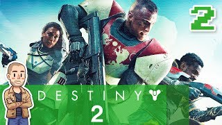 Destiny 2 Beta PS4 Gameplay Part 2 - Inverted Spire Strike - Let's Play Series