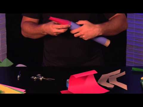 How to Make Paper Rockets Fold