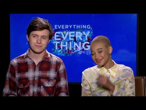 """TheYBF.com Interview with """"Everything, Everything"""" co-stars Amandla Stenberg and Nick Robinson"""