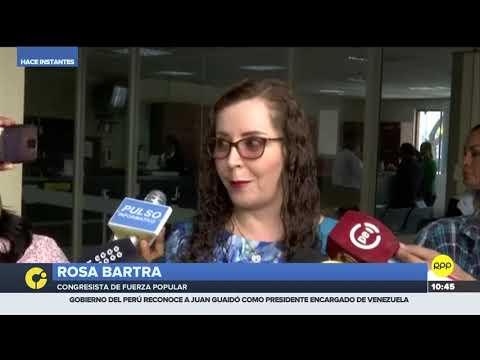Rosa Bartra niega que comisión que preside haya retrasado dictamen de la Junta Nacional de Justicia