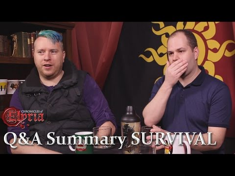 Survival Q&A in Brief
