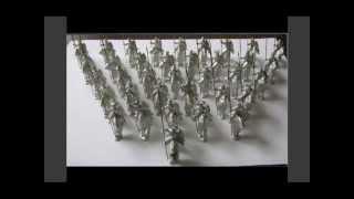 Рыцари Тевтонского ордена(Набор металлических миниатюр