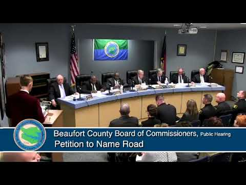 February 5, 2018 Beaufort County Board of Commissioners' Meeting