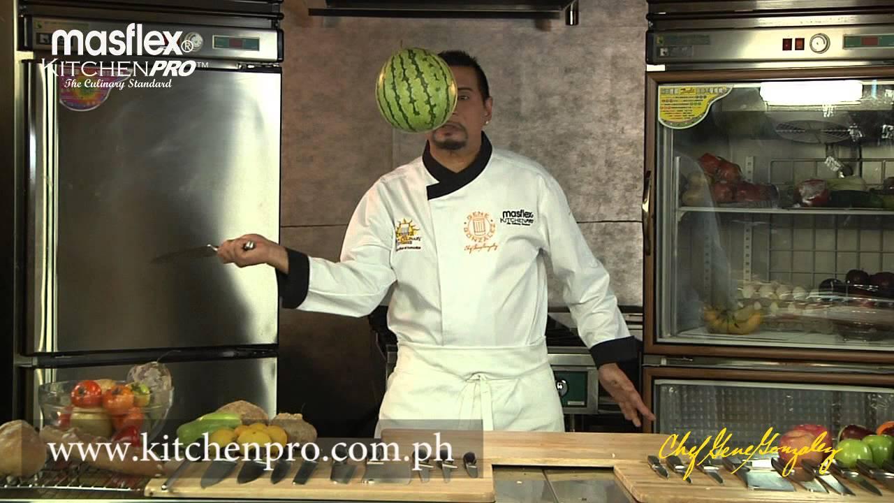 Ninja fruit cut - Chef Gene Fruit Ninja Knife Sharpness Test With A Huge Watermelon