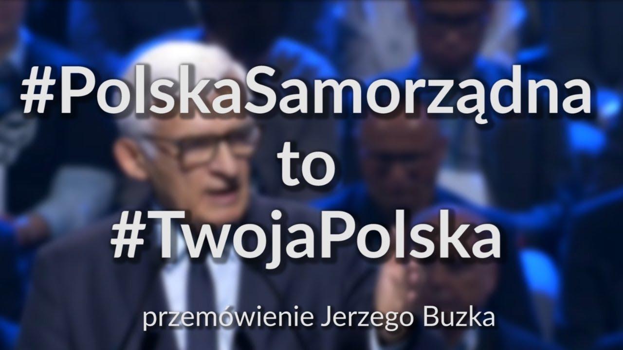 Jerzy Buzek   Oddajemy władzę obywatelom    przemówienie