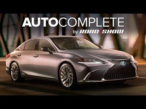 AutoComplete: New Lexus ES sedan revealed leading up to Beijing
