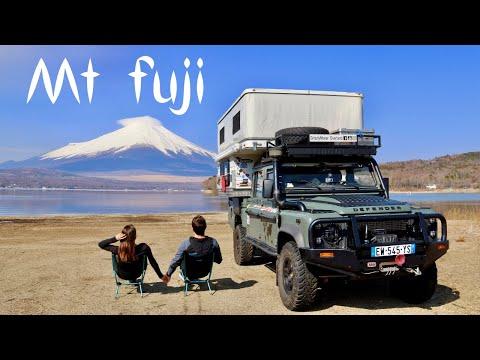 Mt FUJI wild camping! + Japans #1 Land Rover garage (Ep118 GrizzlyNbear Overland)