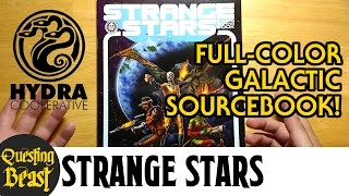 Strange Stars: Sci-Fi RPG Setting Review