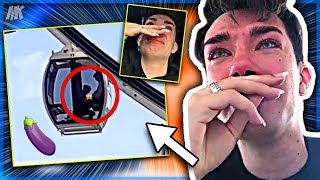 James Charles Gets Caught Eating Fans D At Coachella? (Footage)